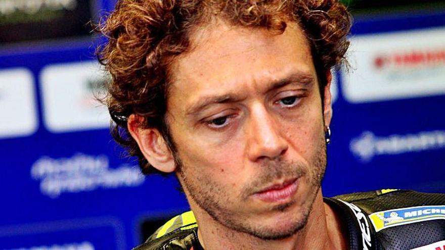 Rossi tampoco estará en el Gran Premio de Teruel