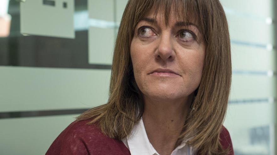 La secretaria general del PSE, Idoia Mendia, ingresada por coronavirus