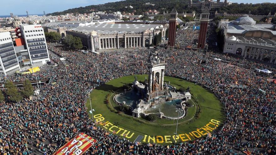 La ANC limita la Diada a 48.000 personas en Cataluña