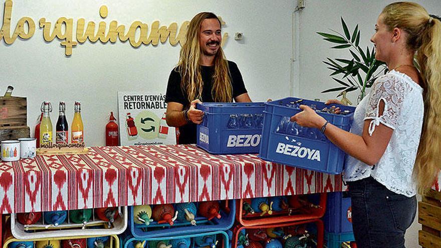 Hier gibt's auf Mallorca Pfandflaschen