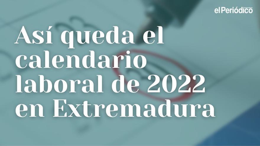 Calendario laboral de 2022: así quedan los festivos