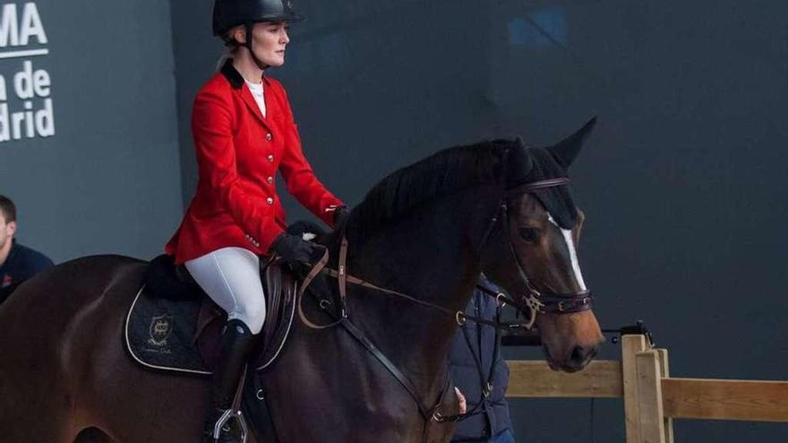Marta Ortega, en la Madrid Horse Week