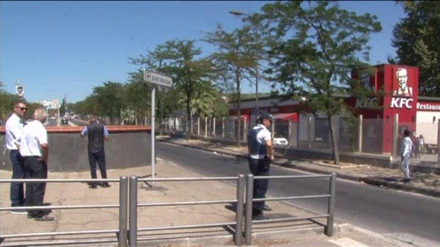 Una mujer muerta al arrollar un coche dos paradas de autobús en Marsella