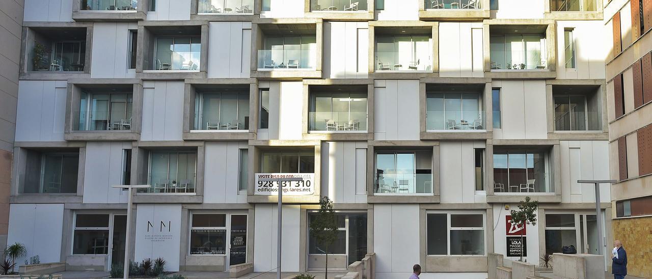 Un edificio camaleónico
