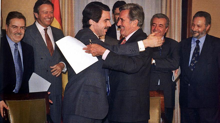 De Felipe a Aznar,  pasando  por Canarias