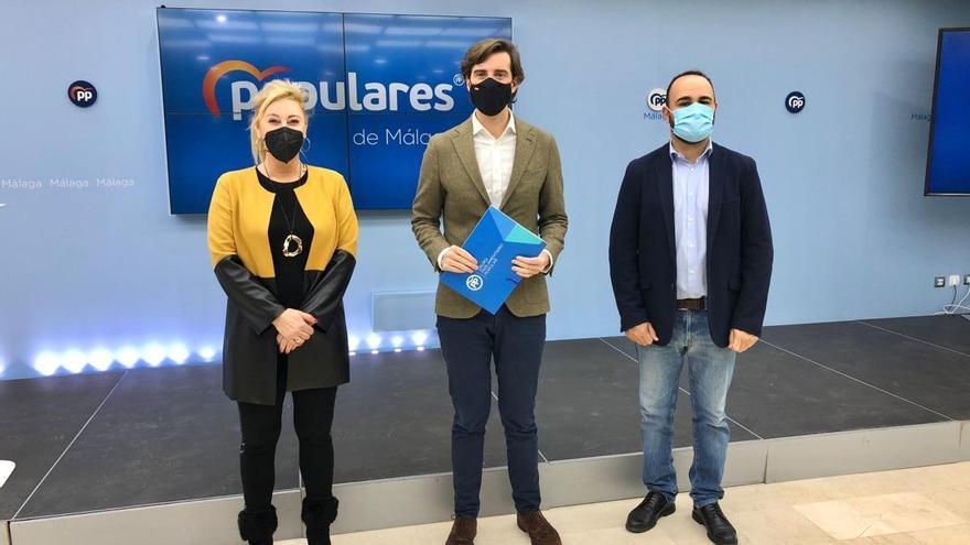 """El PP asegura que """"Sánchez ha dejado de lado a Málaga por criterios políticos"""""""