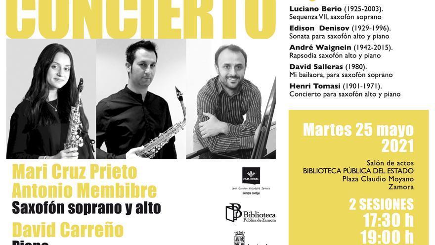 Nuevo concierto (gratis y doble) en la Biblioteca Pública de Zamora