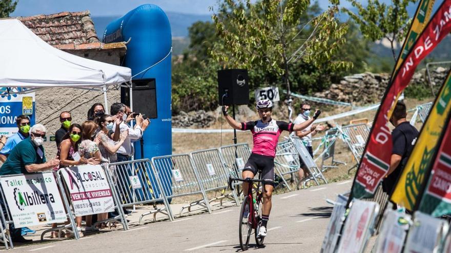 Josu Etxeberría gana la Vuelta a Zamora