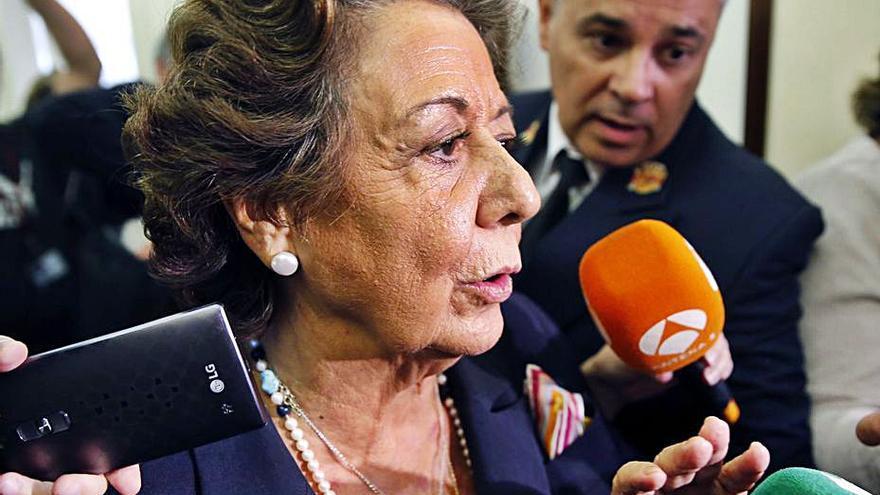 La Junta de Portavoces debatirá hoy la distinción a Rita Barberá
