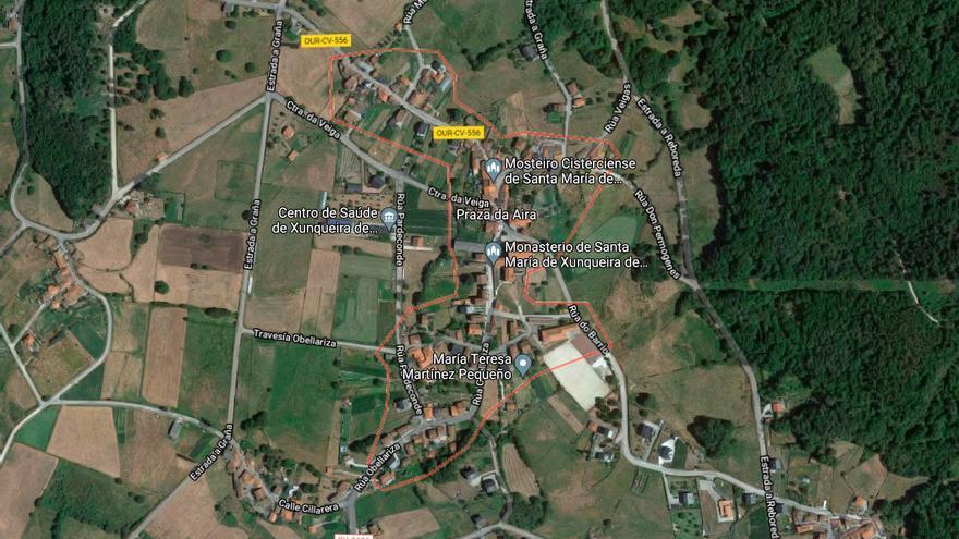 Un incendio afecta a una explotación avícola en Ourense