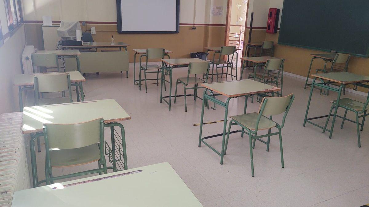Centro educativo de Doña Mencía.