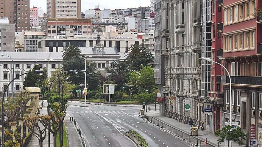 A Coruña, la ciudad en la que más disminuyó la contaminación en el confinamiento