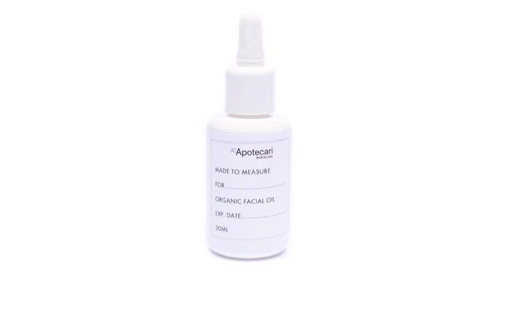 Aceite facial orgánico Made to Measure. 60 euros. JC Apotecari