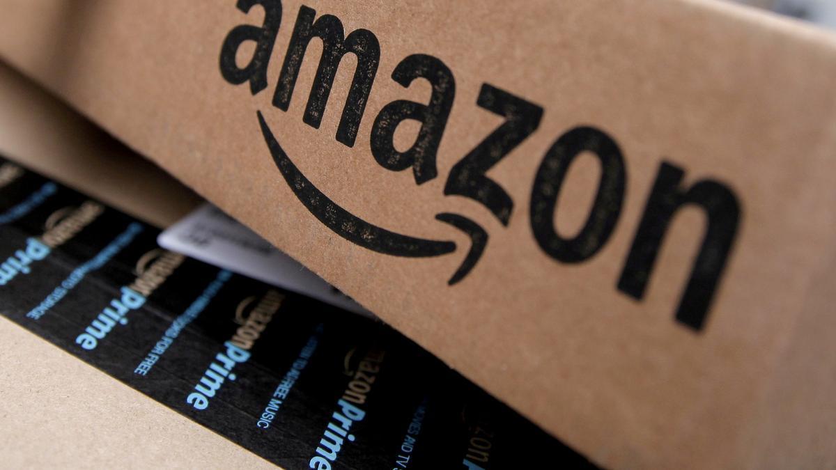 Un paquete de Amazon.