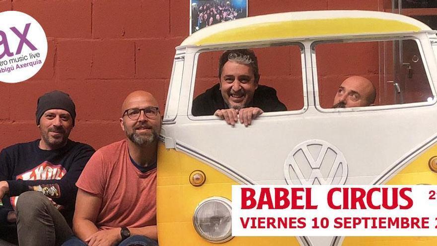 Babel Circus presenta 'El equilibrio del porvenir' en el Ambigú la Axerquía