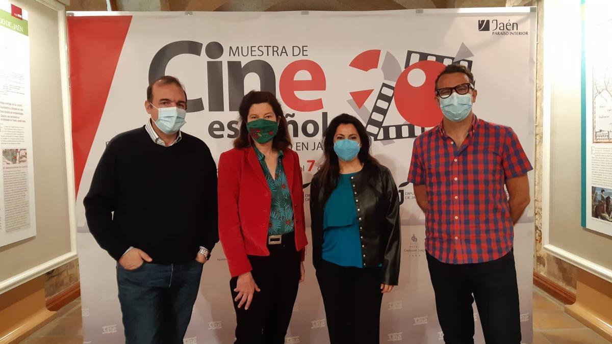 Enrique Iznaola, Lala Obrero, Lourdes Palacios y Miguel Ángel Parra.