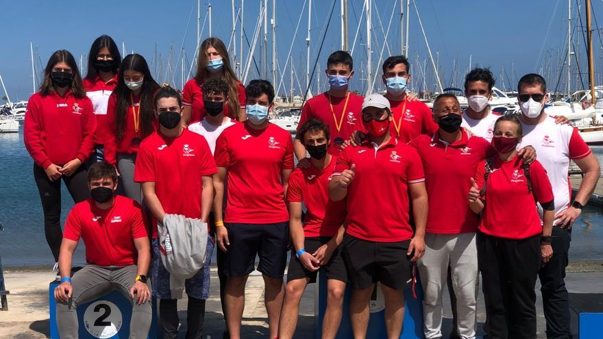 El equipo de kayak polo del RCN Castelló brilla en la Copa de España