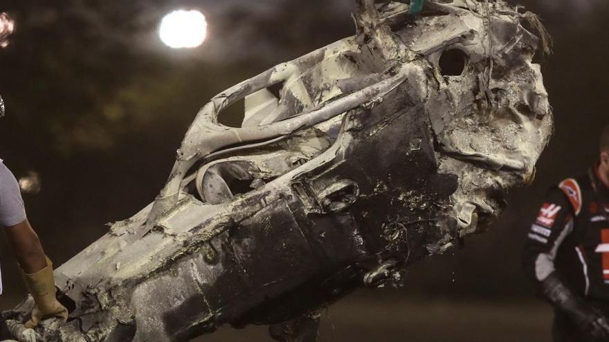 """El equipo del coche médico cree que Grosjean se salvó por una reacción """"instintiva"""""""