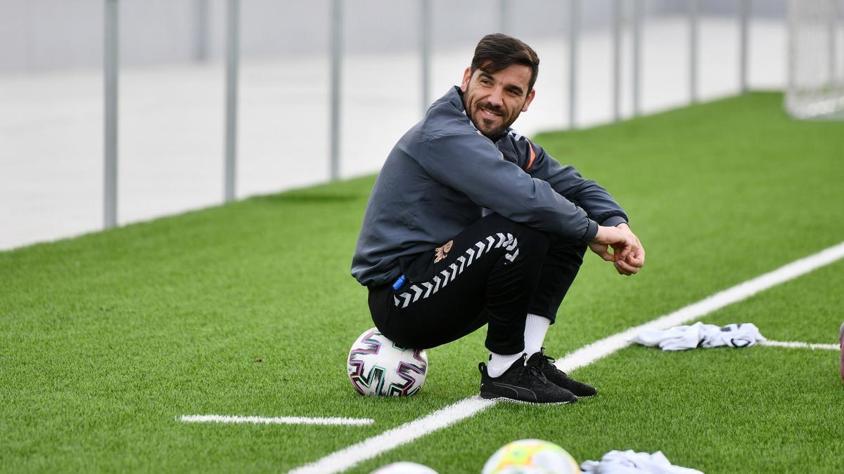 Jesús Ramos en un entrenamiento.