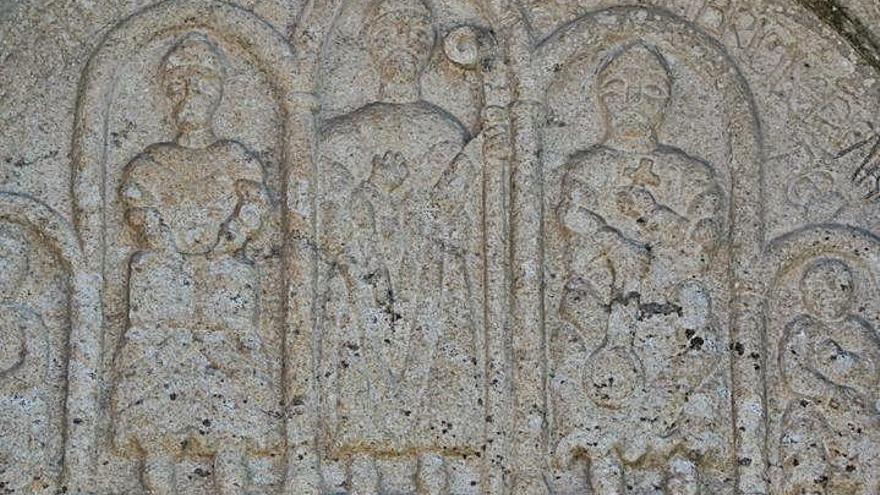 Fernando Arias, nobre de Ribadavia, mandou facer a igrexa de San Martiño