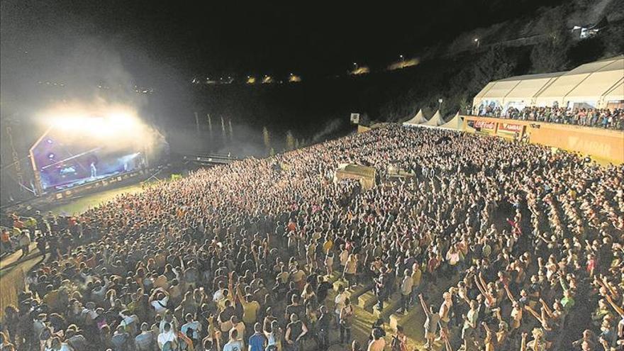 Grandes festivales que vertebran el territorio