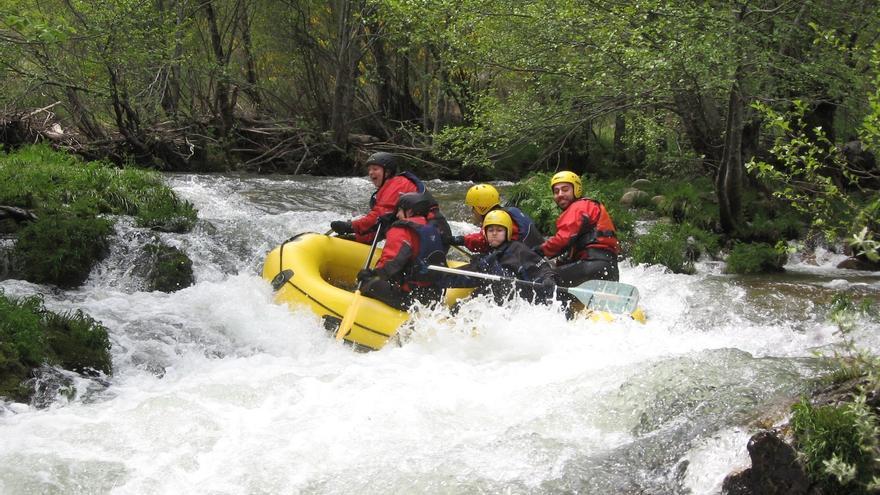 Rafting en Sanabria