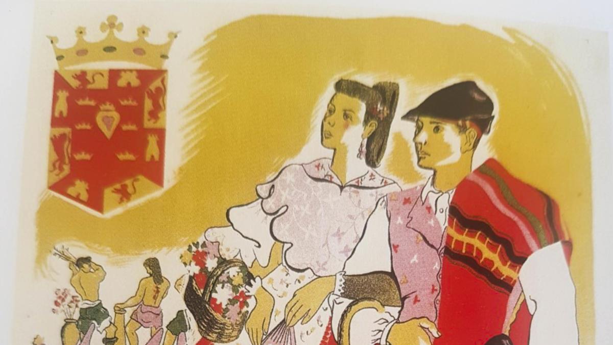 1943, Murcia. Solemne Semana Santa y Grandiosas Fiestas de Primavera