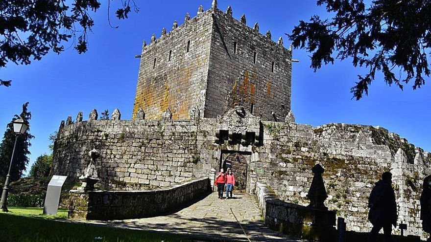 Obras en la cubierta del Castillo reparan las filtraciones de agua