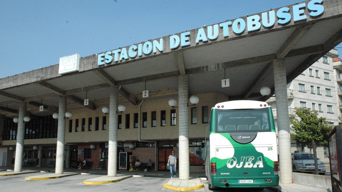 Estado actual de la estación de autobuses de Ponteareas. / G. Porto