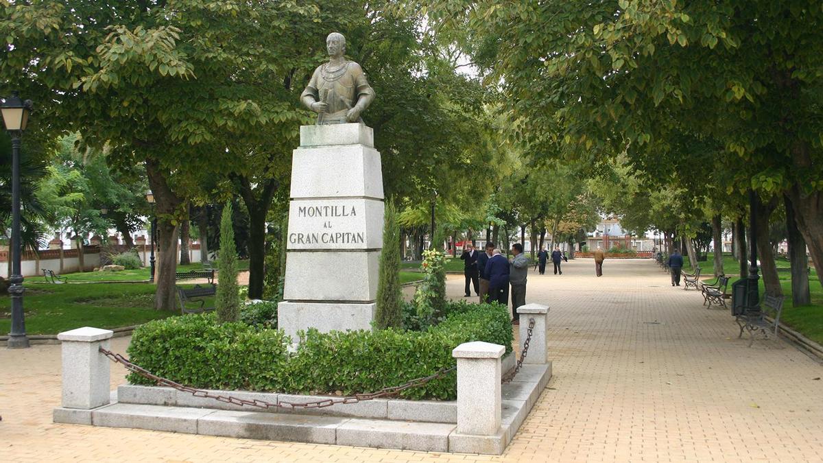 El Paseo de las Mercedes es una de las principales zonas verdes de Montilla
