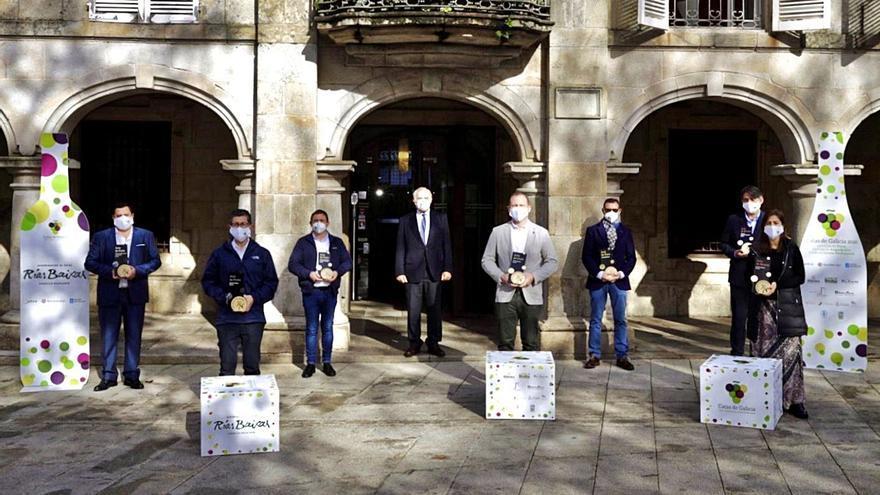 Siete bodegas de Rías Baixas reciben los premios de Catas de Galicia