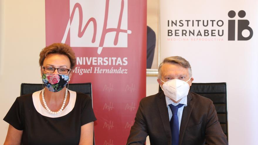 Convenio de la UMH de Elche y el Instituto Bernabeu
