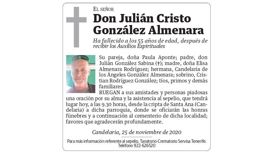 Julián Cristo González Almenara