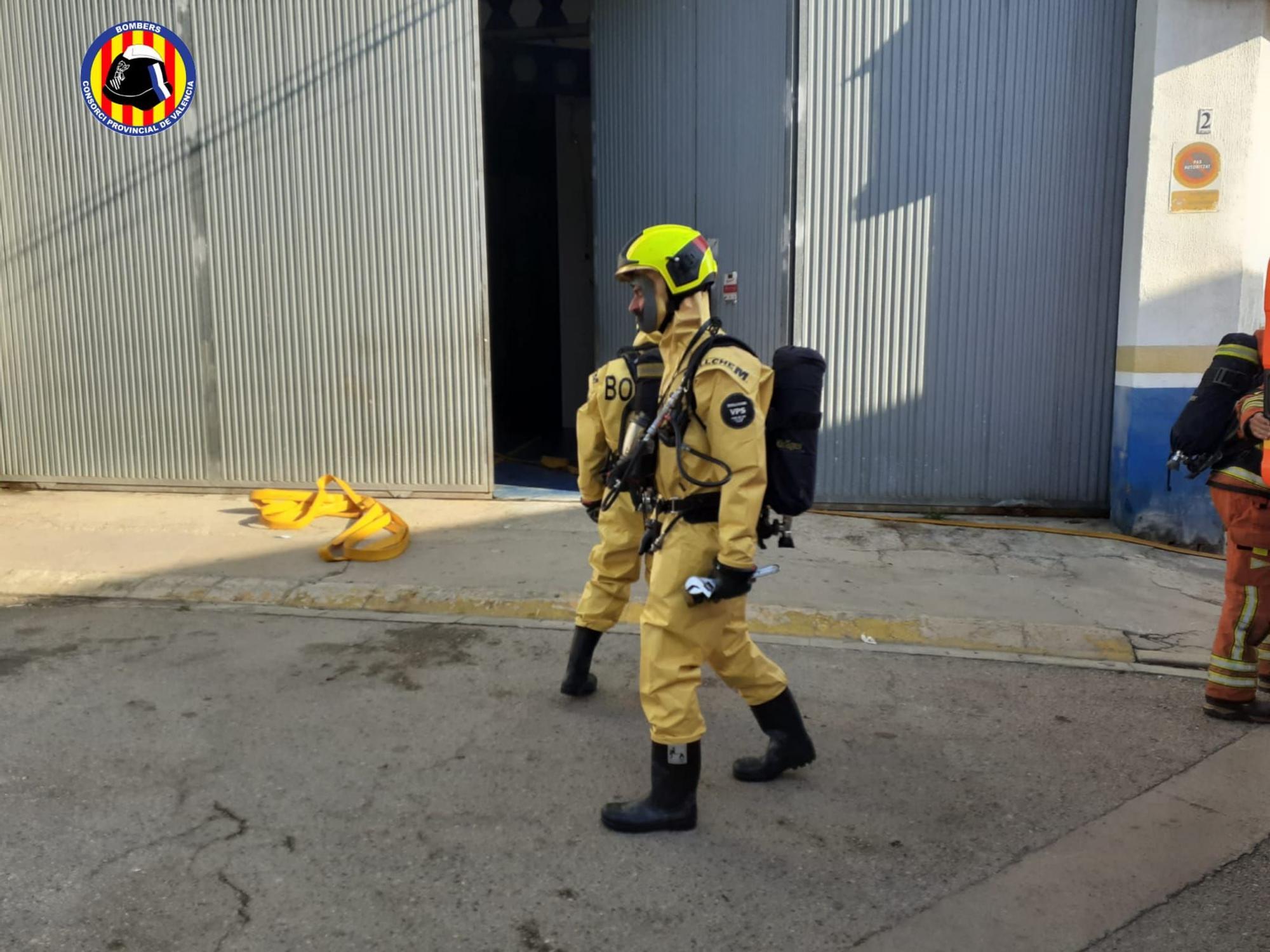 Una fuga de amoniaco en Guadassuar obligaba confinar a los vecinos