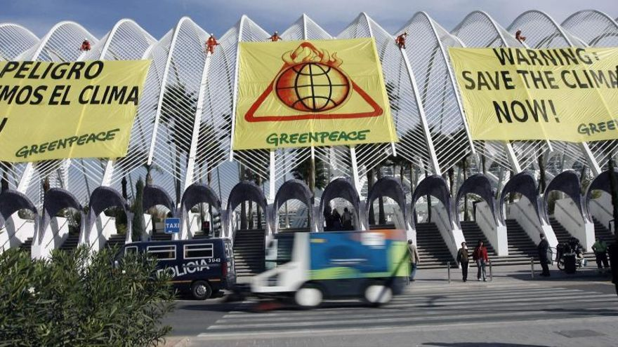 València certificó en 2007 el origen humano de la crisis climática