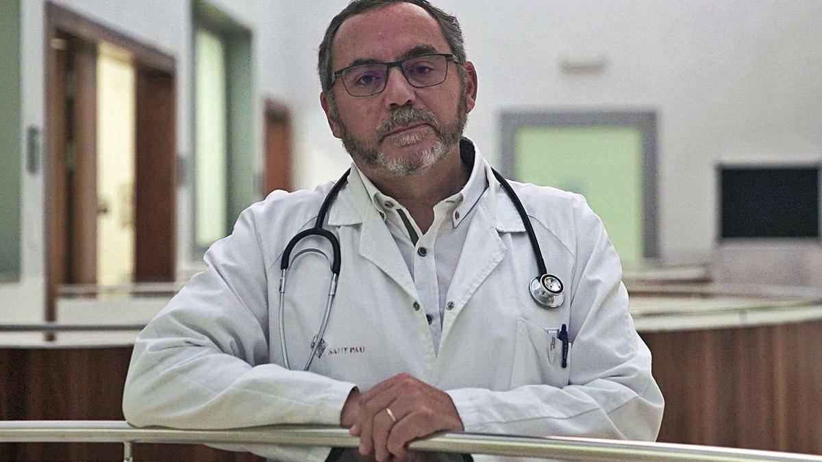 El doctor Antonio Pérez Pérez, presidente de la Sociedad Española de Diabetes.     // A.P./CEDIDA