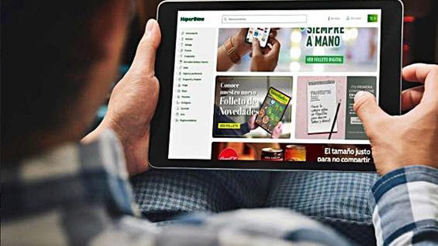 HiperDino promociona su compra online