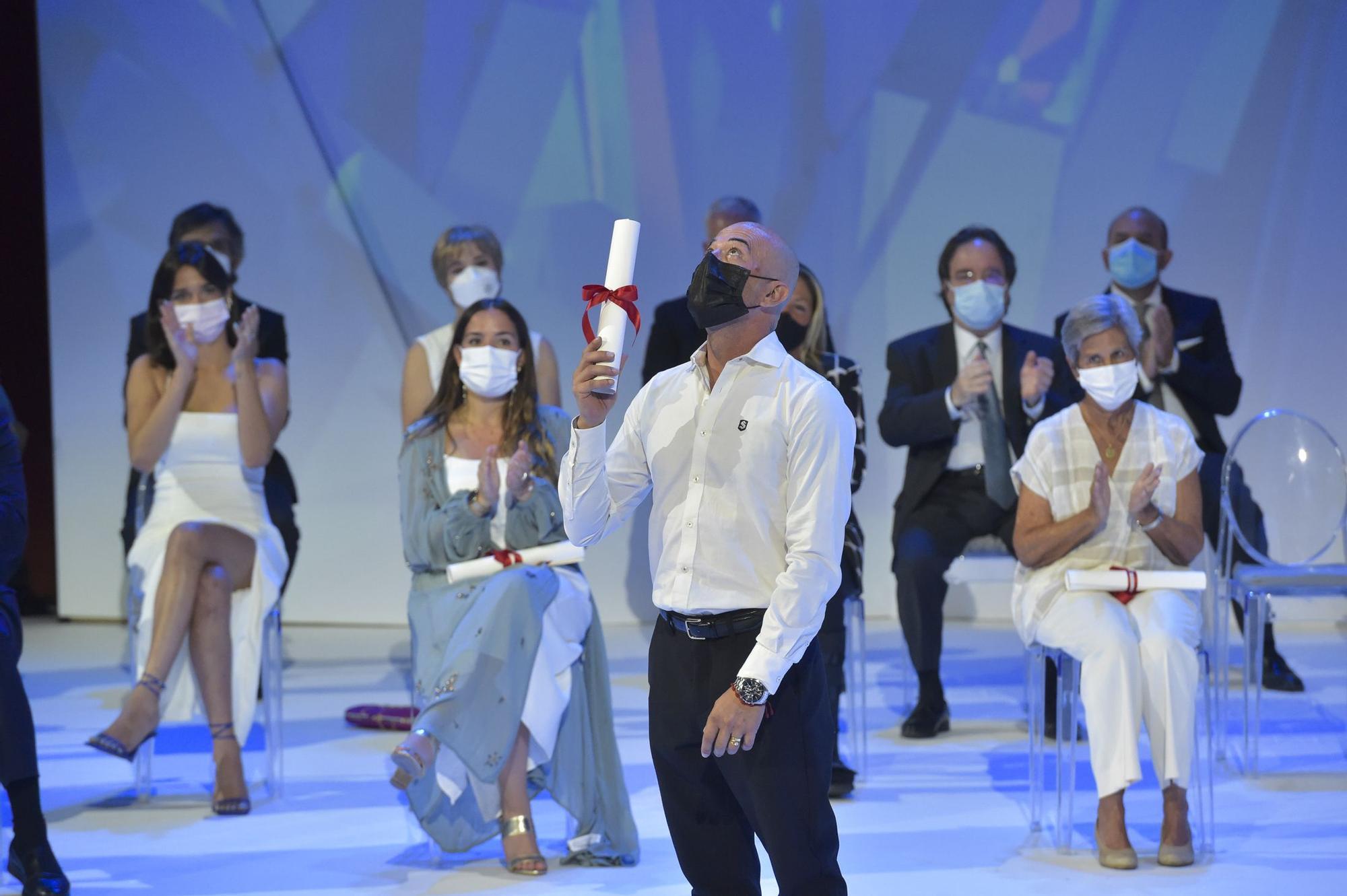 Entrega de distinciones del Ayuntamiento de Las Palmas de Gran Canaria en las Fiestas Fundacionales 2021