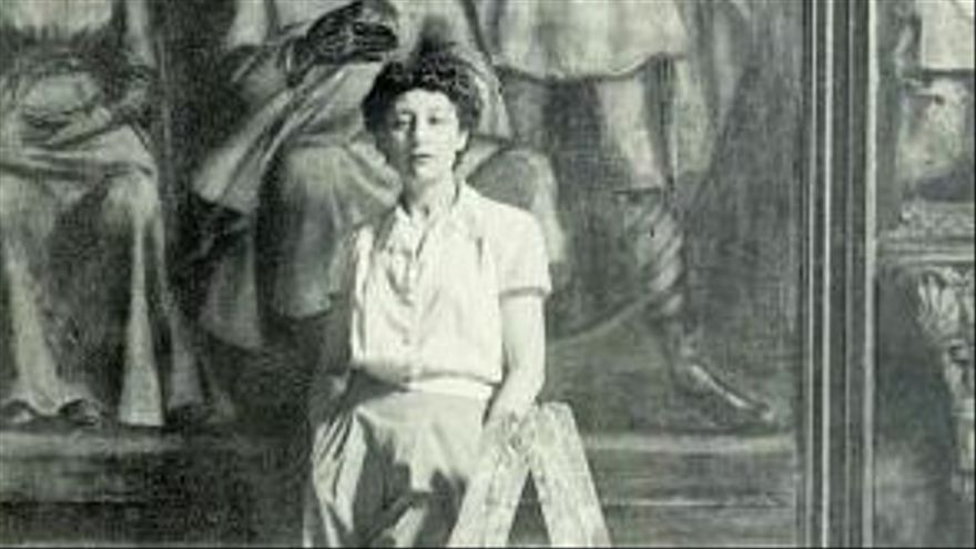 Delhy Tejero (1933, Madrid) en una de las fotografías que se exhiben en La Laguna. | (L) ELD
