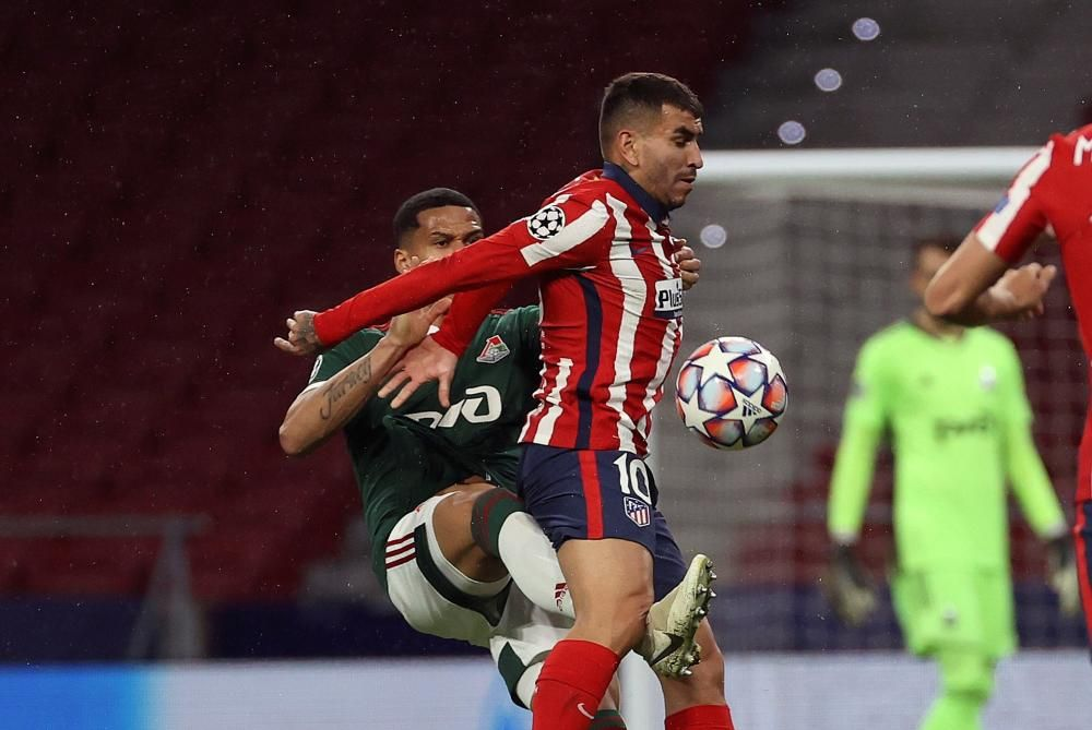 Champions League: Atlético de Madrid - Lokomotiv de Moscú