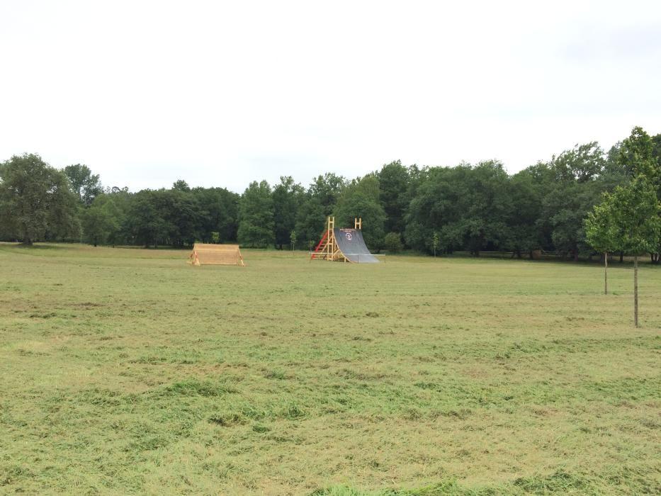 Obstáculos de la Gladiator Race en La Fresneda