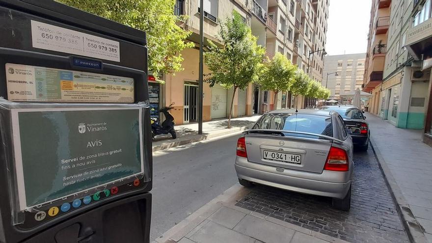 Aparcar en Vinaròs ya es gratis en zona azul y párkings subterráneos