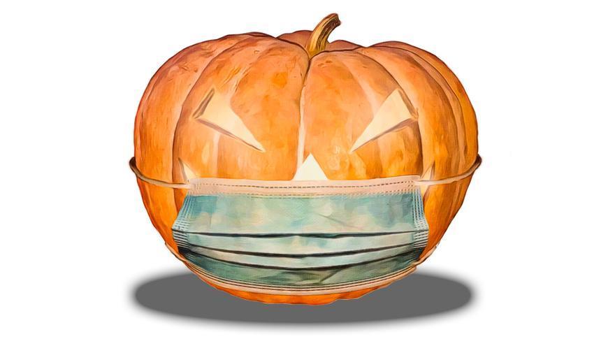 Cinco ideas originales para decorar tu mascarilla en Halloween