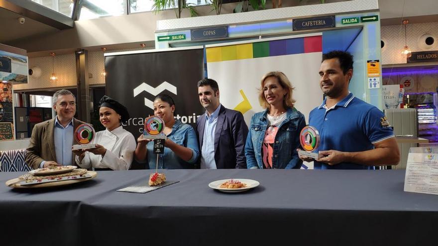 Una tapa de tacos con mermelada de pimiento y mayonesa chipotle gana el concurso 'Eutopía Sabor'