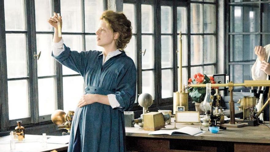 Marie Curie reabre el ciclo de cine 'Ellas, también y por supuesto, mueven el mundo'