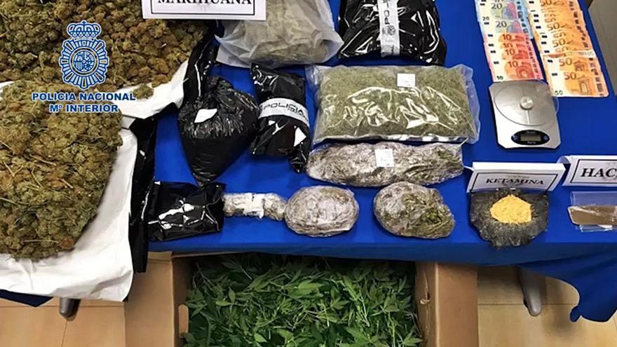 Desmantelada en Ibiza una plantación de marihuana que exportaba a Italia
