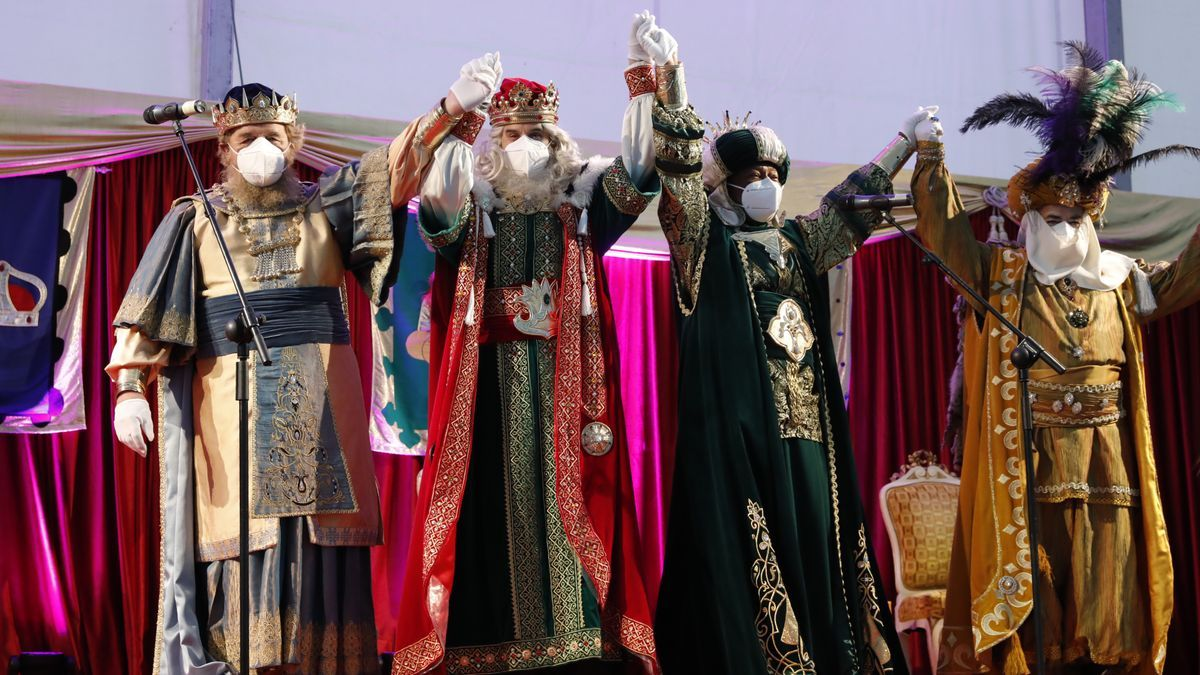 Los Reyes Magos en la plaza de toros