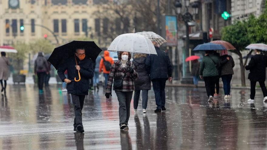 El tiempo en València: lluvias dispersas y nubes para este martes