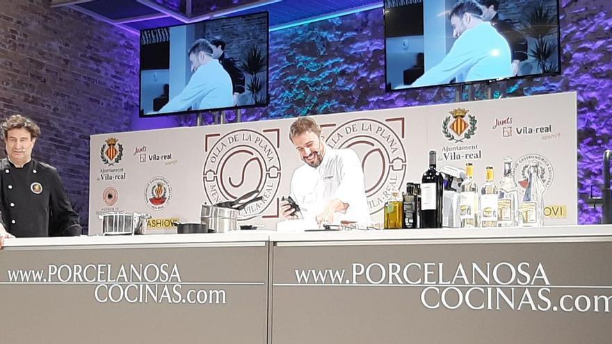 Vila-real lanza la Olleta de la Plana a nivel nacional de la mano de un conocido chef televisivo