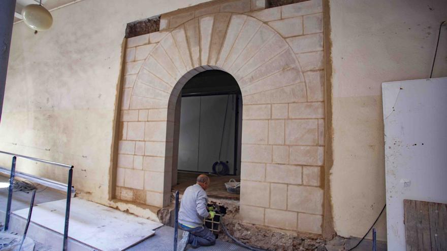 Consultorio sanitario medieval en Xàtiva